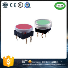 Hot Sale 17mm Push Button Switch with Round Cap (FBELE)